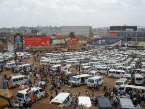 Kampala's Taxi Park