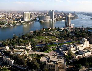 Amrou Kotb reporting from Cairo