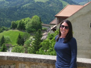 Ms. Julia Schulteis in Switzerland