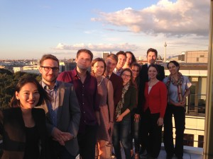 Maxwell Students and Alumni in Berlin. Photo: Frederik Ferié