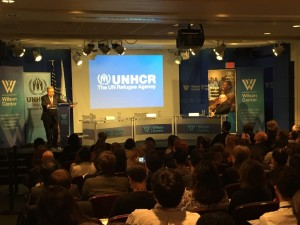 High Commissioner António Guterres launches a new UNHCR report, Women on the Run, at the Wilson Center