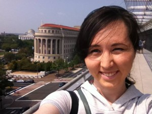 Beth Gawne is enjoying her life in Washington D.C.
