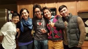 Beth Gawne with friends in Washington D.C.