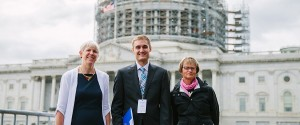 In front of the U.S. Capitol with other constituents from Michigan for IJM's Advocacy Summit. We were on our way to meet with Senators Debbie Stabenow (D-MI) and Gary Peters (D-MI) in support of the End Modern Slavery Initiative. (See http://news.ijm.org/early-christmas-gift-for-anti-slavery-efforts-as-congress-approves-25-million)