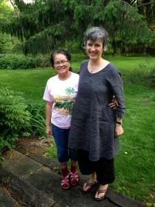 Tosca Bruno & Cambodian Translator