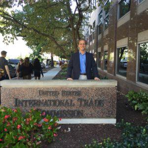 Daniel Matthews at the USITC