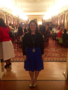 Megan Soule, 10,000 Women Dinner with First Lady, Michelle Obama at the U.S. Department of State