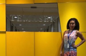 Rosalina Jowers at Temasek's Stewardship Asia Centre