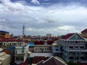 View from Aide et Action office, Phnom Penh, Cambodia