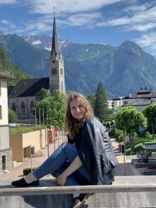 Karen Reitan in Liechtenstein