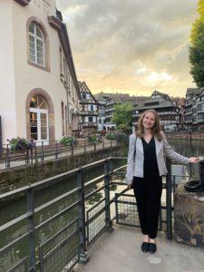 Karen Reitan in Strasbourg