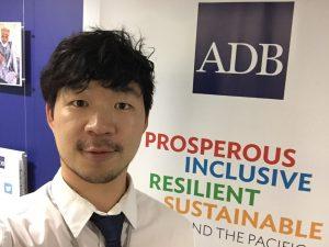 Kibaek Kim at ADB