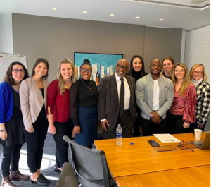 NYC team with Al Roker from a Lunch & Learn