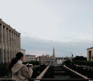 Nadia Husseini-Eyre in Brussels, Belgium
